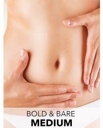 Bold & Bare Laser Hair Removal Program - Medium Area