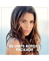 50 Units BOTOX® + TiZO® Photoceutical® Peel Package